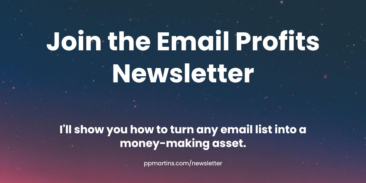 Email Profits Newsletter